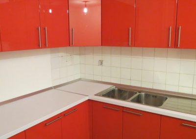 Lackierte MDF-Küche (10)