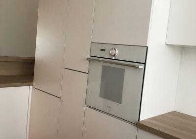 Lackierte MDF-Küche (12)