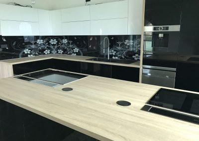 Lackierte MDF-Küche (14)