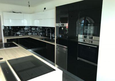 Lackierte MDF-Küche (15)