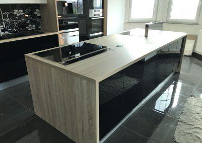 Lackierte MDF-Küche (16)