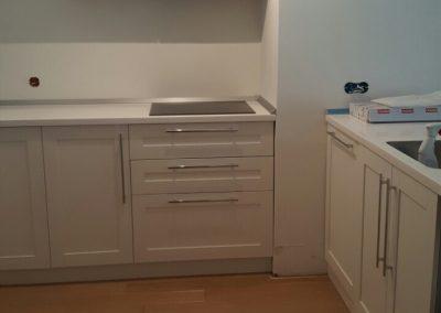 Lackierte MDF-Küche (22)