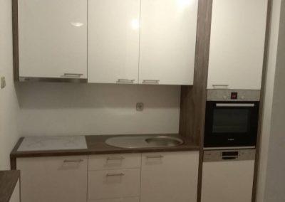 Lackierte MDF-Küche (29)
