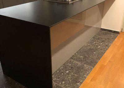 Lackierte MDF-Küche (35)