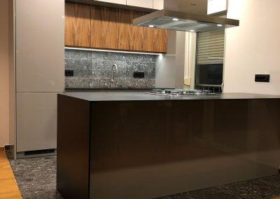 Lackierte MDF-Küche (37)
