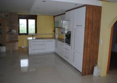 Lackierte MDF-Küche (4)
