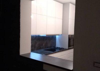 Lackierte MDF-Küche (45)