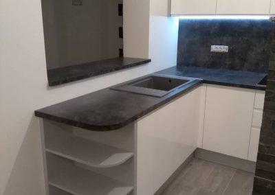 Lackierte MDF-Küche (46)
