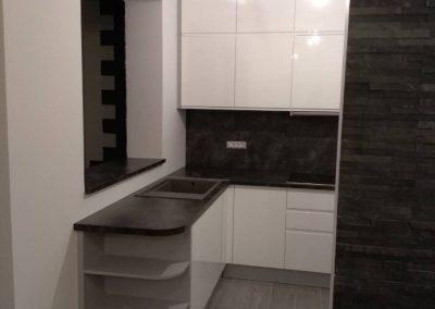 Lackierte MDF-Küche (47)