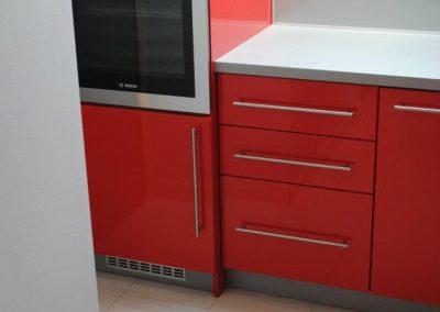 Lackierte MDF-Küche (6)