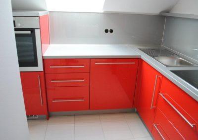 Lackierte MDF-Küche (8)