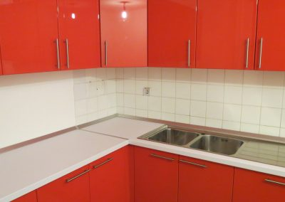 Lacquered MDF kitchen (1)