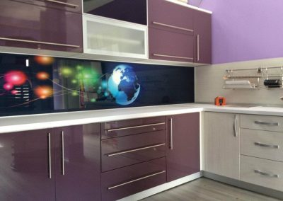 Lacquered MDF kitchen (3)
